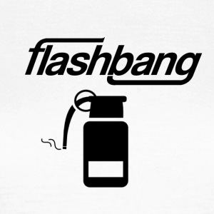 Flash Bang log - 25kr Donation - Women's T-Shirt