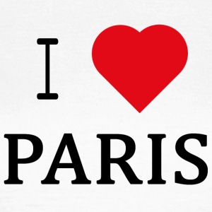 I Love Paris - T-skjorte for kvinner