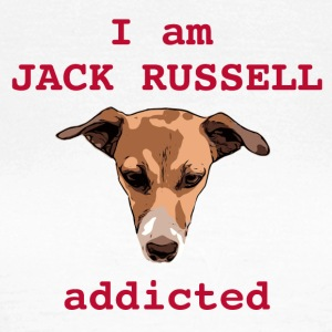 Jack russel addicted red - Women's T-Shirt