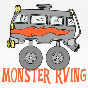 Monster Rving - Vrouwen T-shirt