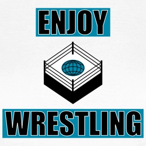 ENJOY_WRESTLING_BASIC_DesASD - T-shirt dam