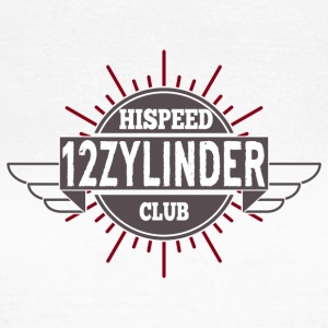 Tolv cylindre HiSpeedClub - Dame-T-shirt