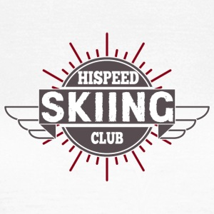 Skiing HiSpeedClub - Women's T-Shirt
