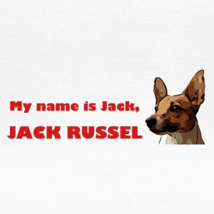my name is jack red - Frauen T-Shirt