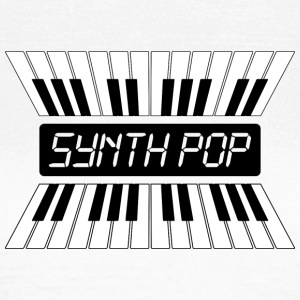MUSIC synth-pop (2) - Camiseta mujer