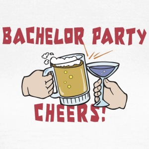 Bachelor Party Drinking - Vrouwen T-shirt
