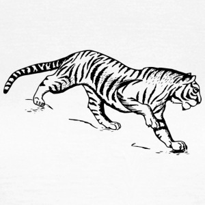 Tiger black and withe - Women's T-Shirt