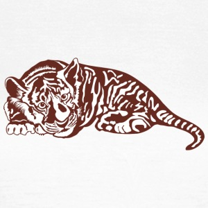 Sweed wild cat tiger - Frauen T-Shirt