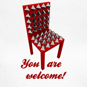 You are welcome! (Not.) - Frauen T-Shirt