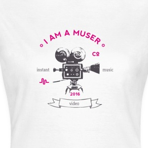 muser_kamera Vintage old love video app music - Women's T-Shirt