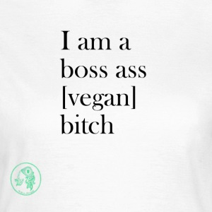Bag - Boss Ass Bitch Vegan - T-shirt dam