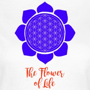 Flower of Life - T-skjorte for kvinner
