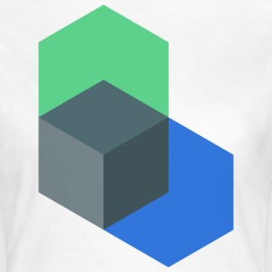 Poly-Cube - Frauen T-Shirt