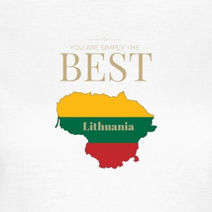 Lithuania is simply the best - Frauen T-Shirt