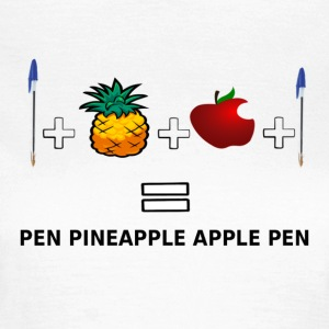 ANANAS APPLE PEN - T-shirt dam
