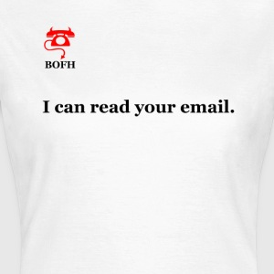 BOFH - E-mail. - Vrouwen T-shirt