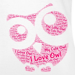 lovely Owl - T-shirt dam