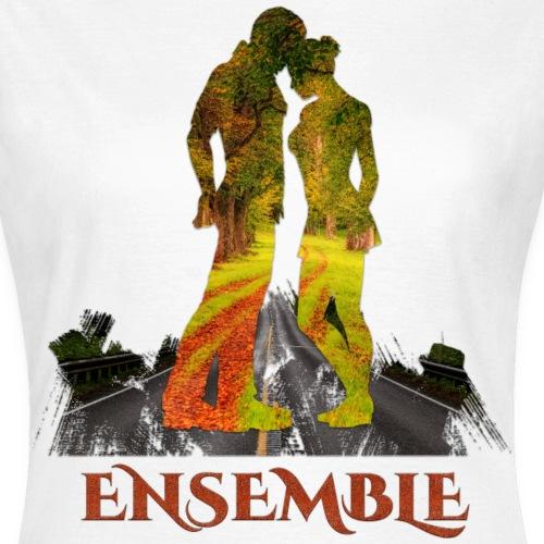 Ensemble -by- T-shirt chic et choc - T-shirt Femme