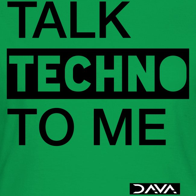 Talk Techno - black