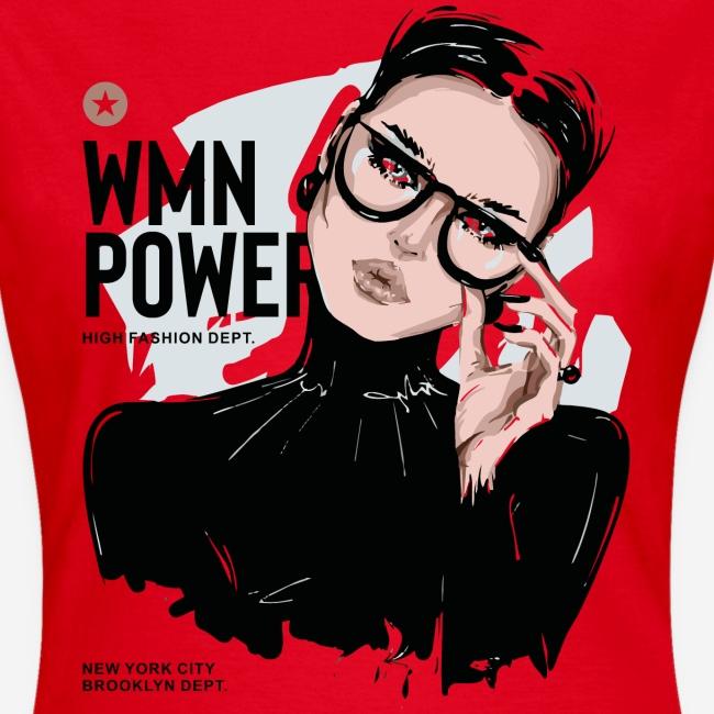 Frauen Power Girl