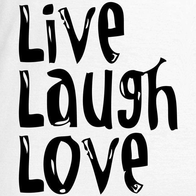 Live, Laugh, Love wide