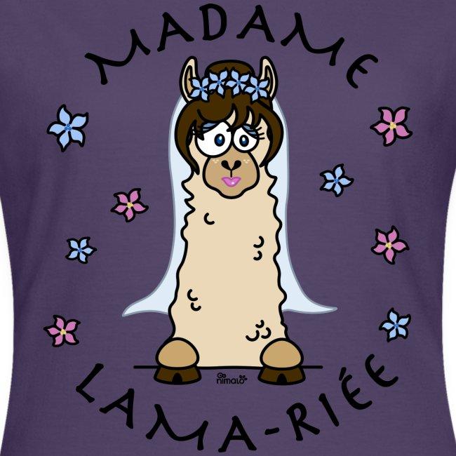 Madame Lama-riée, Lama, Mariage, EVJF, mariée