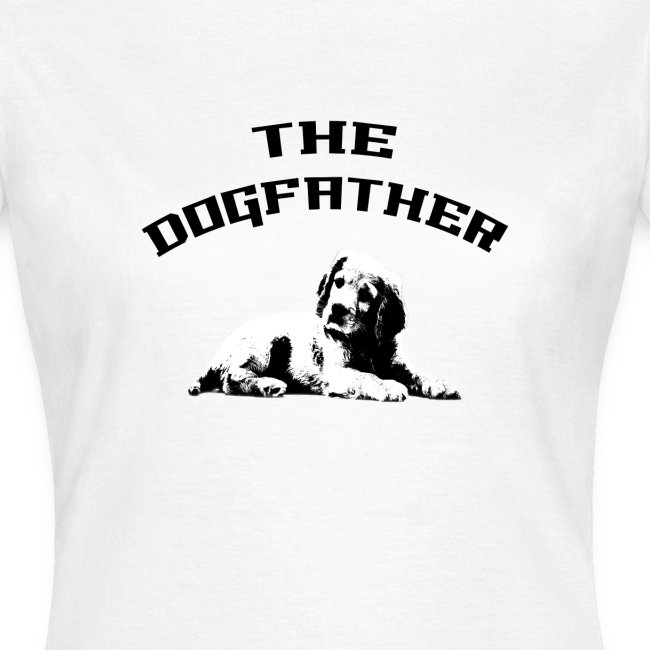 Divertente The DogFather Magliette Uomo Donna