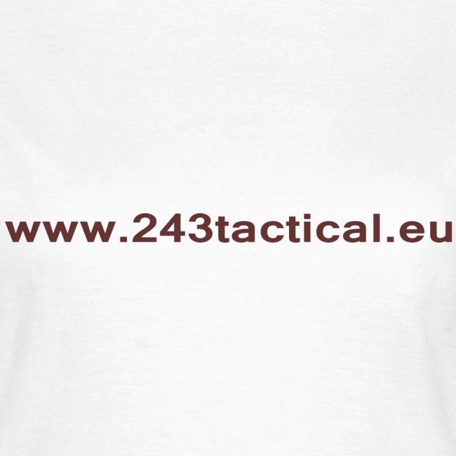 .243 Tactical Website