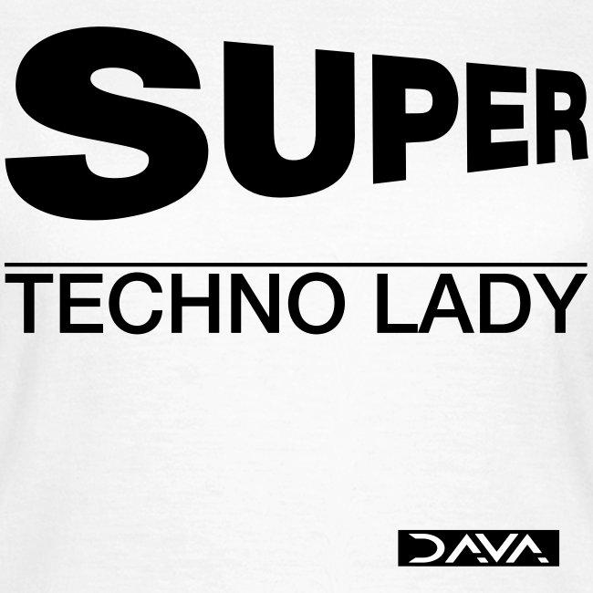 Techno Lady - black