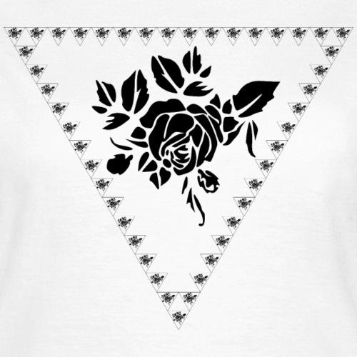 Rose Pattern - Vrouwen T-shirt