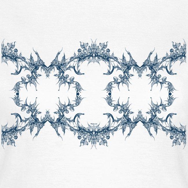 Blue lace chain