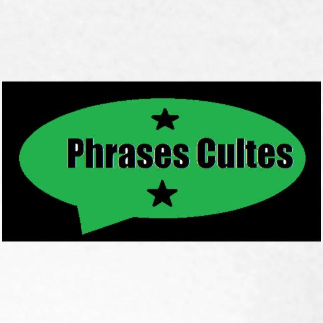 "logo ""Phrases Cultes"""