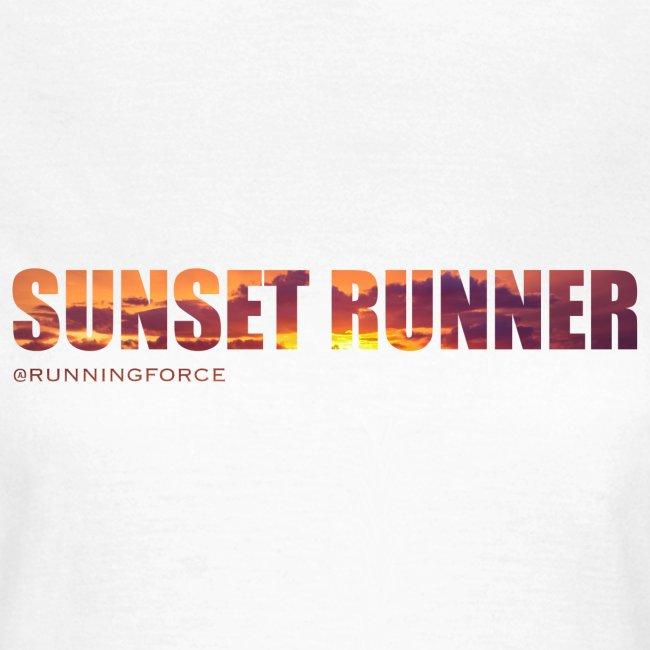 Sunset Runner - @RUNNINGFORCE