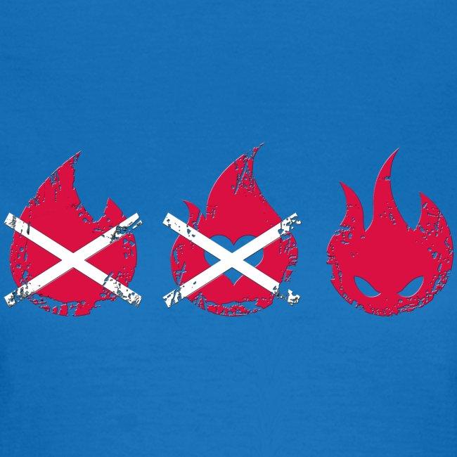 3 pyros grunge