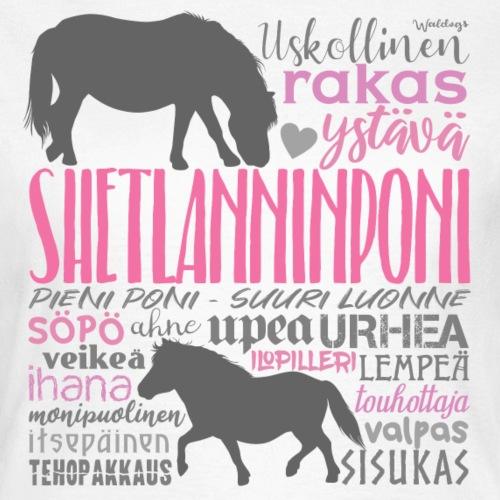 Sheltti Sanat III - Naisten t-paita