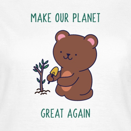 Caring About Climate Change? Trees T-Shirt Print - Women's T-Shirt
