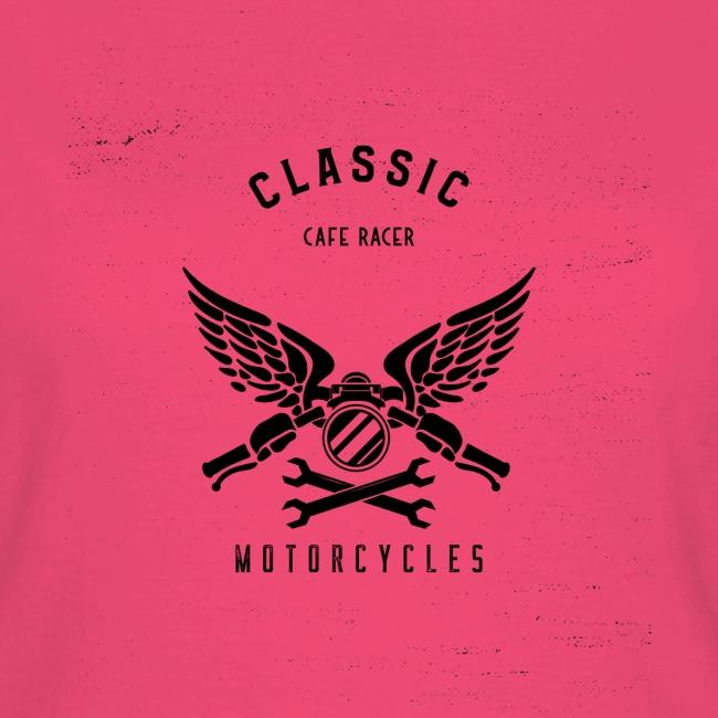 biker t shirt design template for motorcycle enthu