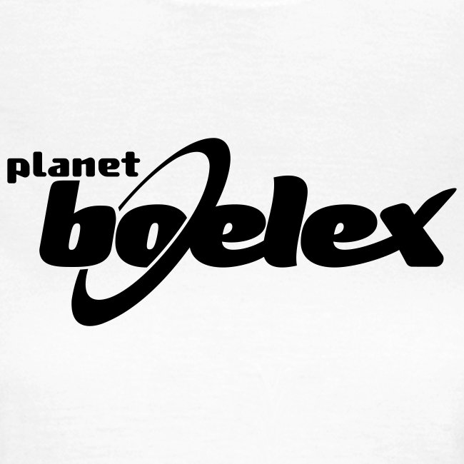 Planet Boelex v logo black