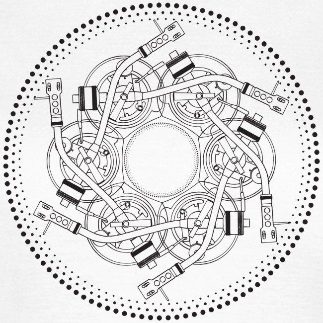 mandala turntable 1210