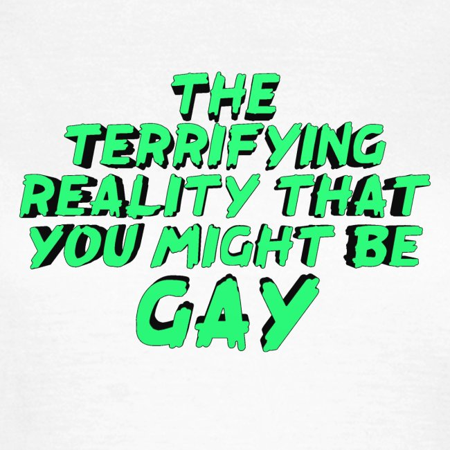 Scariest Things: The Gay Realisation