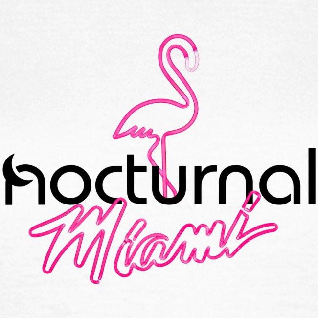 Nocturnal Miami Flamingo black
