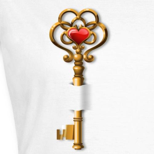 La clef de mon coeur - T-shirt Femme