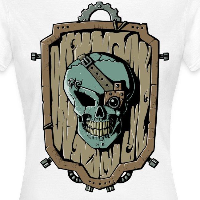 Wooden Skull Shield