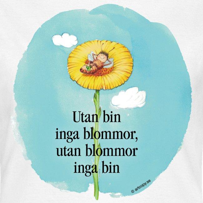 Bi i blomma