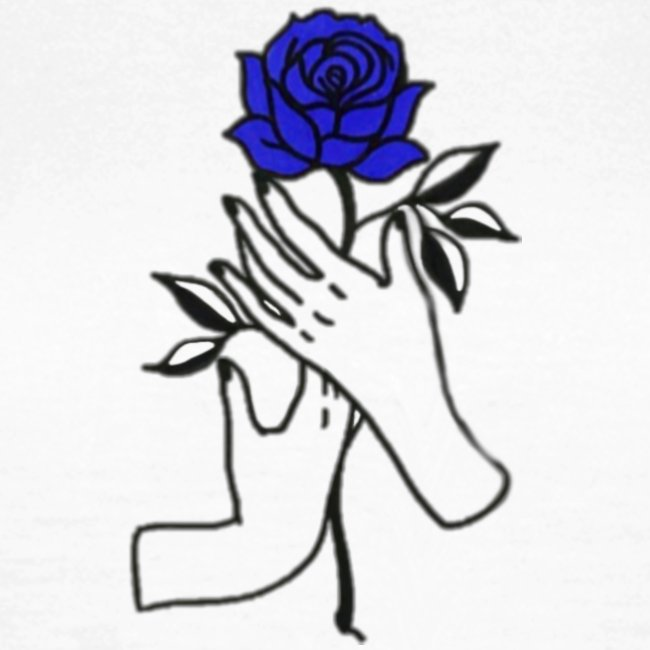 Fiore blu