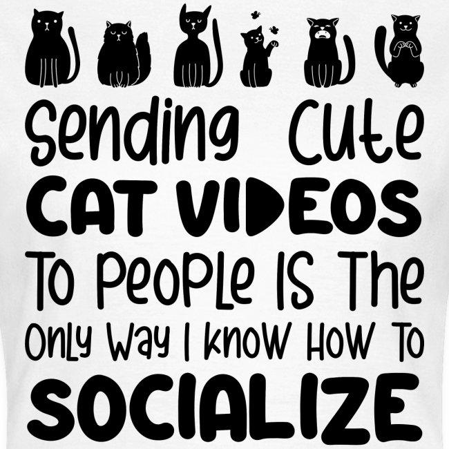Sending cute cat videos to people