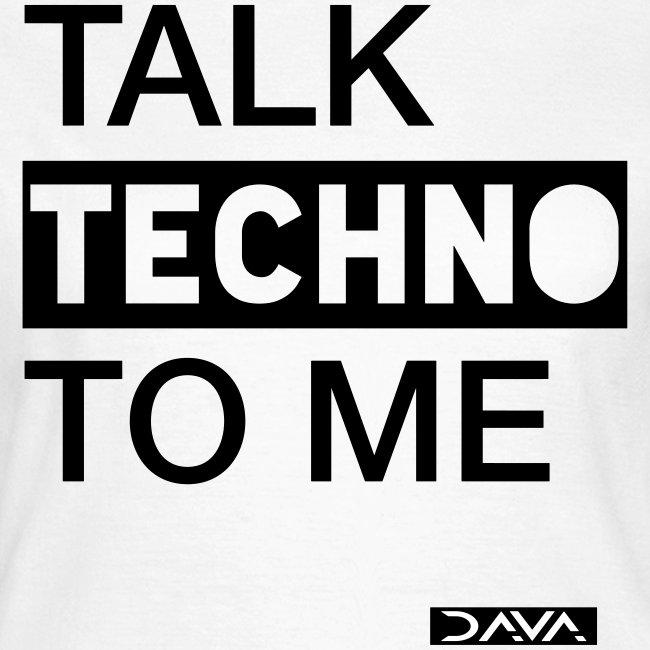 Talk Techno - black
