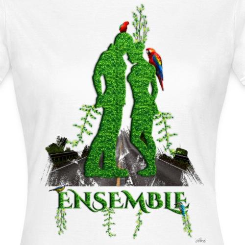 Ensemble amour nature by T-shirt chic et choc - T-shirt Femme