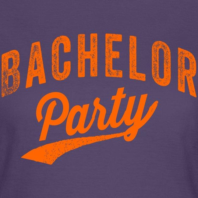 Bachelor Party oranje