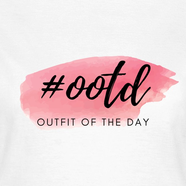 Hashtag ootd Outfit of the Day Instagram